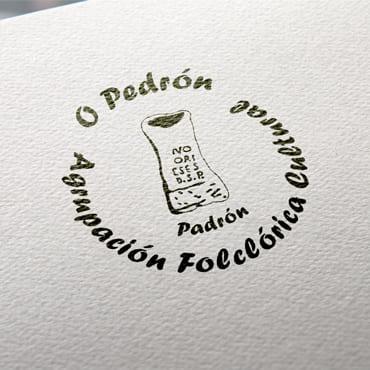logo asociacion folclorica O Pedrón