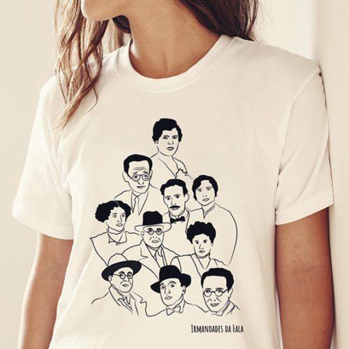 camiseta irmandades da fala