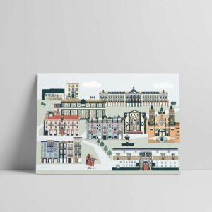 Lámina Compostela