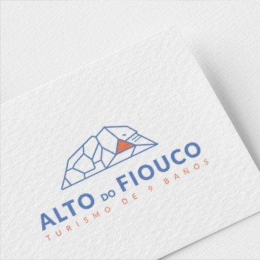 Imagotipo, papelaría e manual para Alto do Fiouco 1